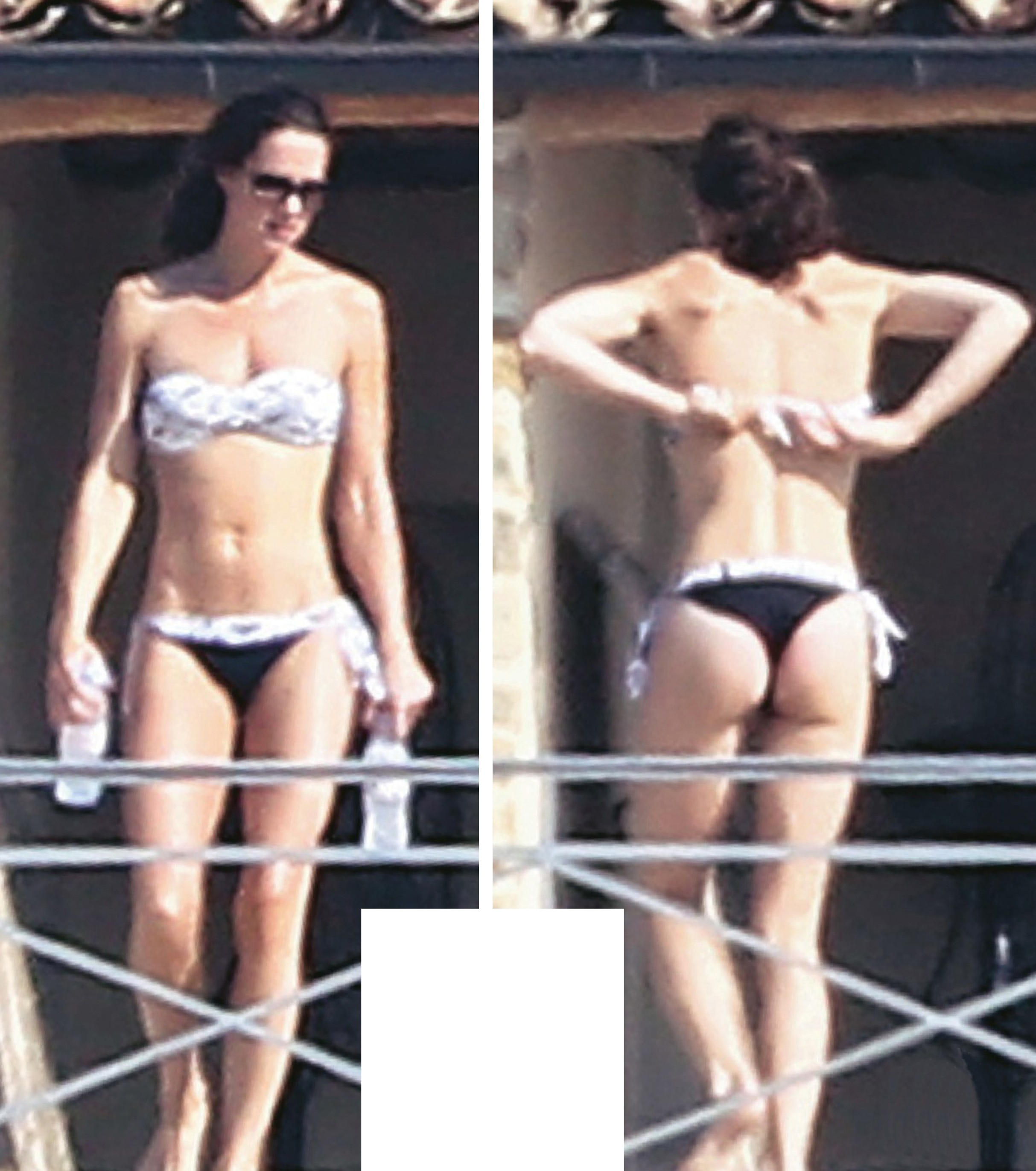 Kate Middleton Prince Williams Wife Sunbathing Topless