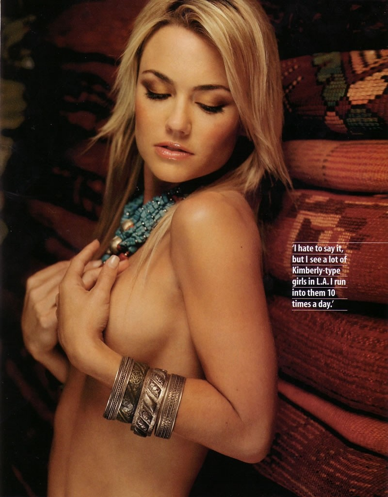 Kelly Carlson Kimber From Niptuck Cover Of Stuff October 2004