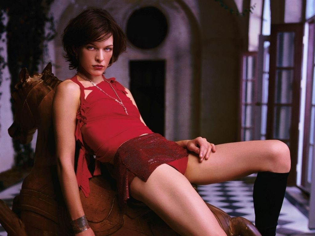 Milla Jovovich - LOreal, The Fifth Element, Resident Evil
