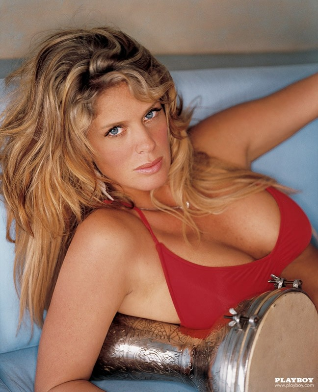 Rachel Hunter Nude On Playboy Pictorial 2004 Zazzybabescom