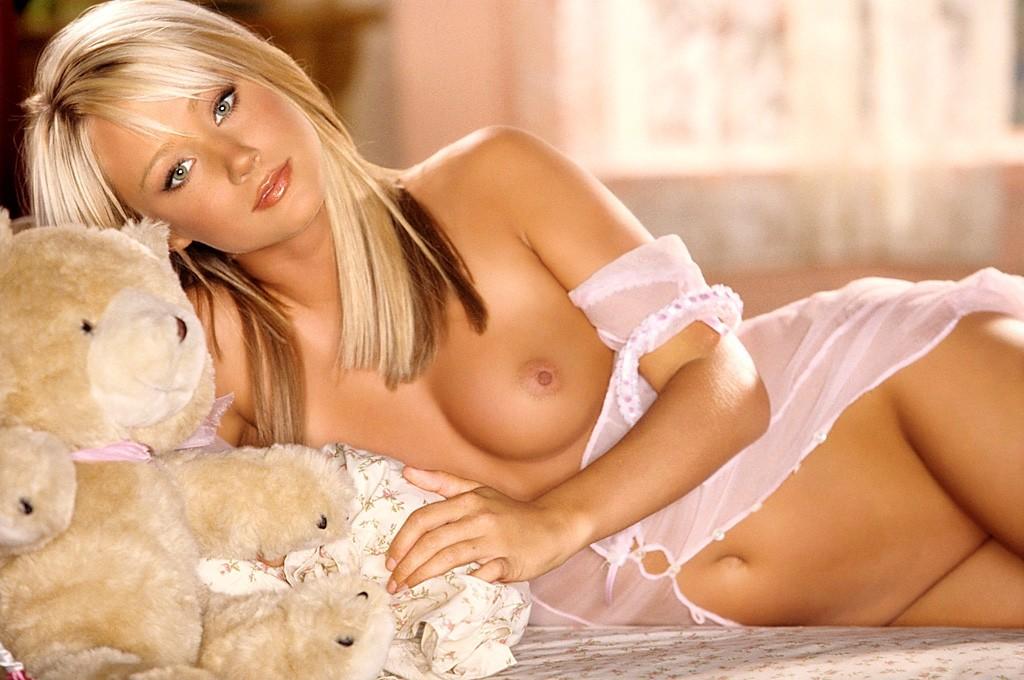 эротика блондинка фото