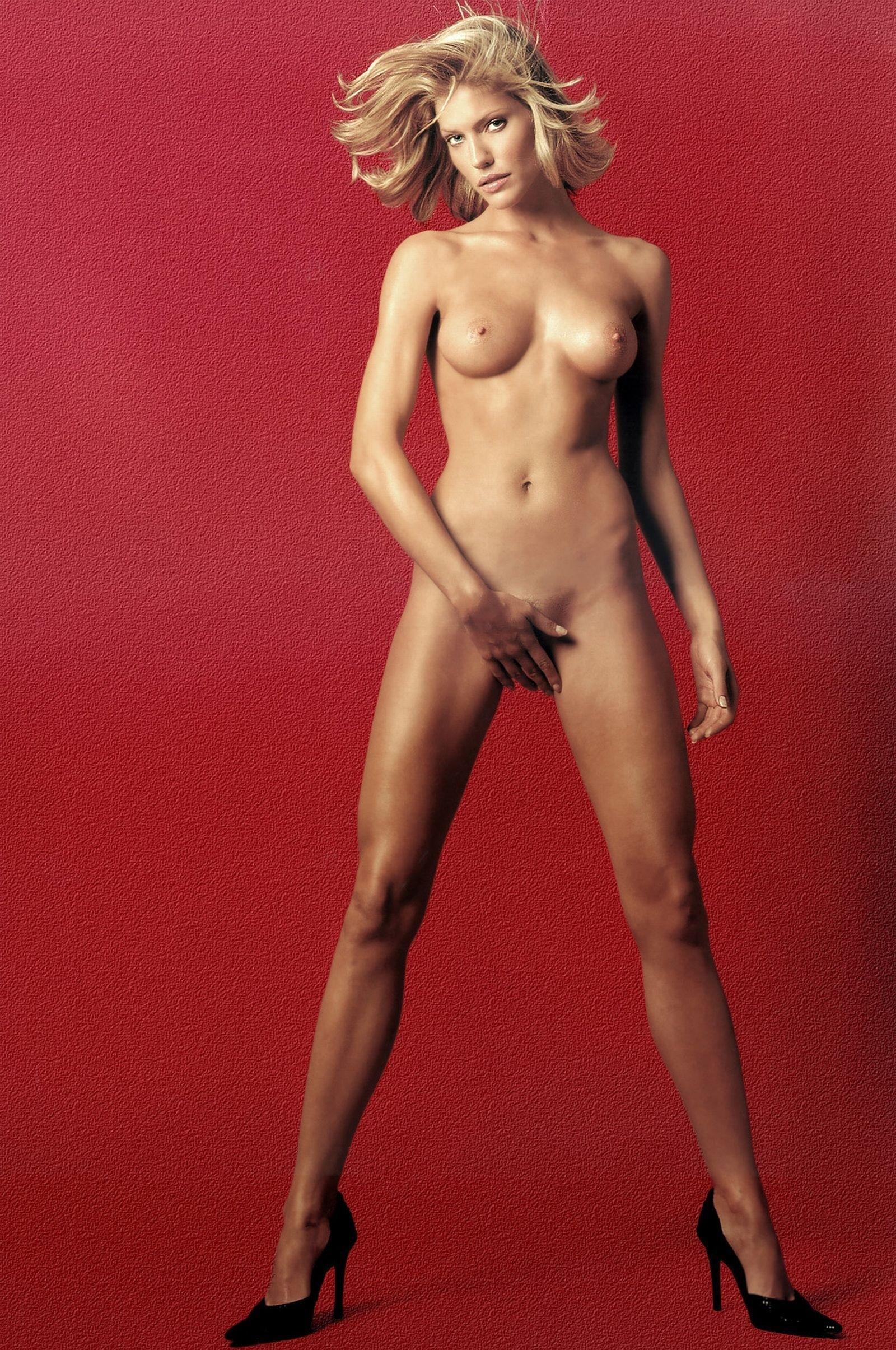 Tricia helfer nude cummed on — photo 4